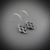 Honeycomb Cluster Earrings