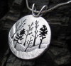 Woodland Forest Pendant