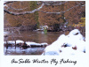 "10 Pack of Headwaters Fine Art Cards 4"" x 5"" with envelopes - AuSable Winter Fly Fishing"